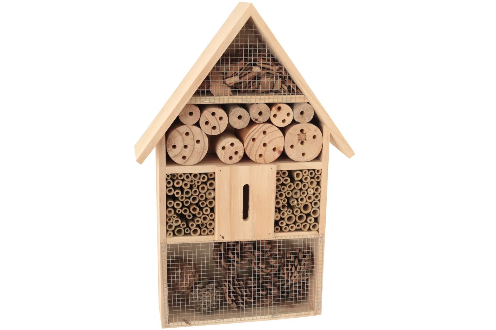 2x Insektenhaus Insektenhotel Brutkasten Nistkasten Insekten Bienen 25 cm Neu