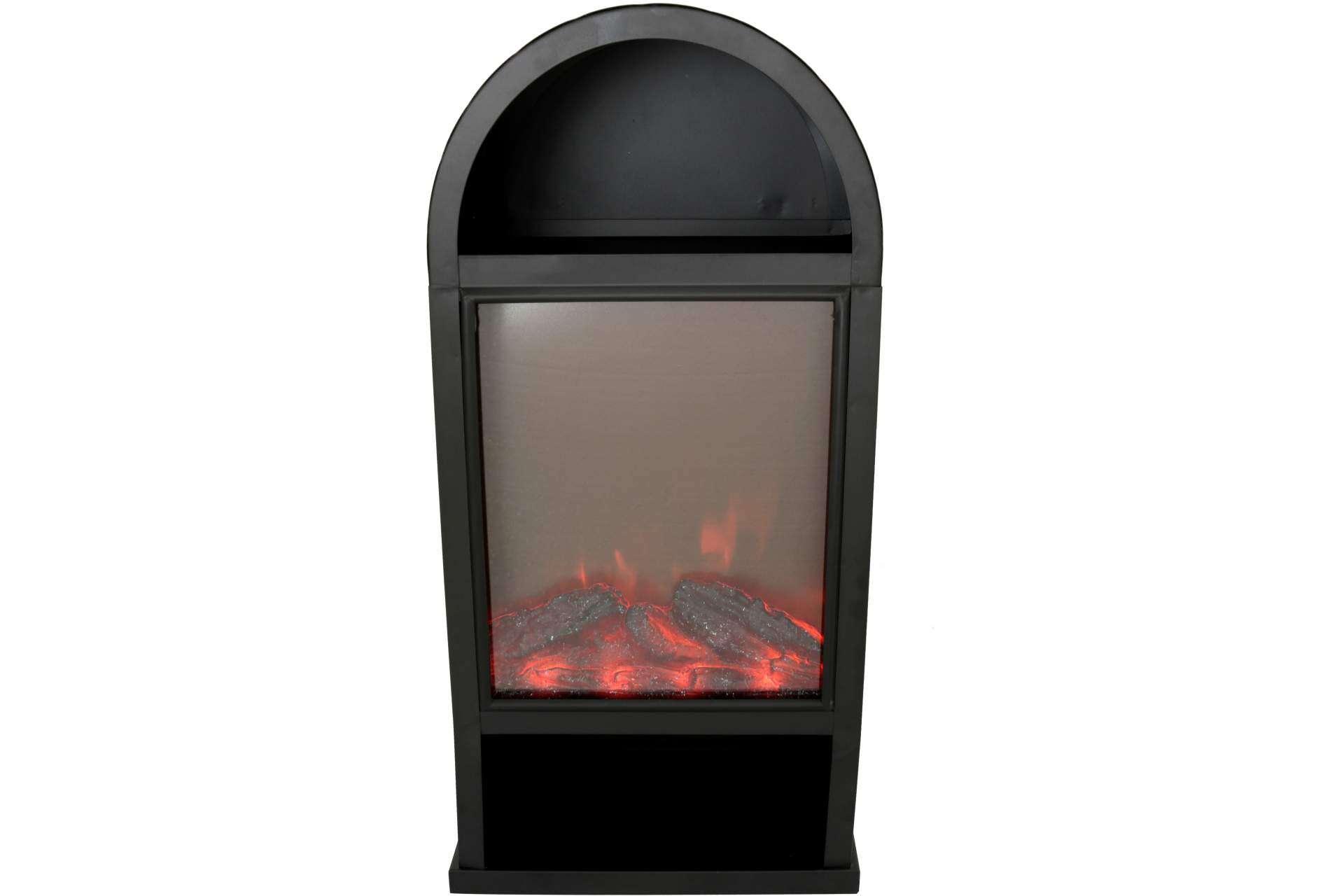 Deko Kamin Mit Flammmeneffekt 25 5 X 15 5 X 50 Cm Schwarz Dekoration Dekoration Wohnen Posten Borse Onlineshop