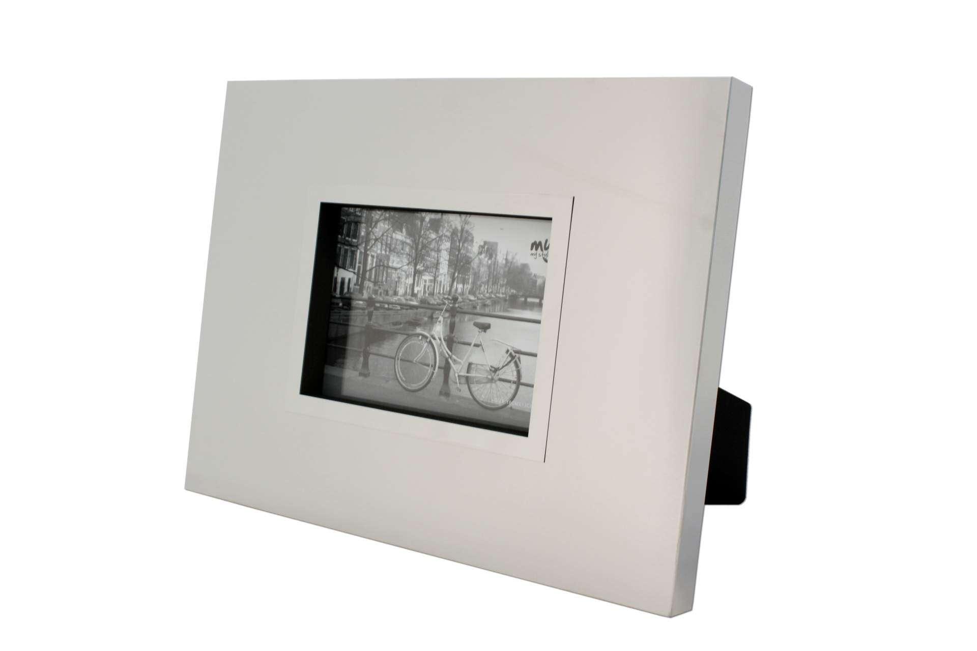 Bilderrahmen MY STYLE 36 x 28 cm für Bilder 13x 18 Edelstahl ...