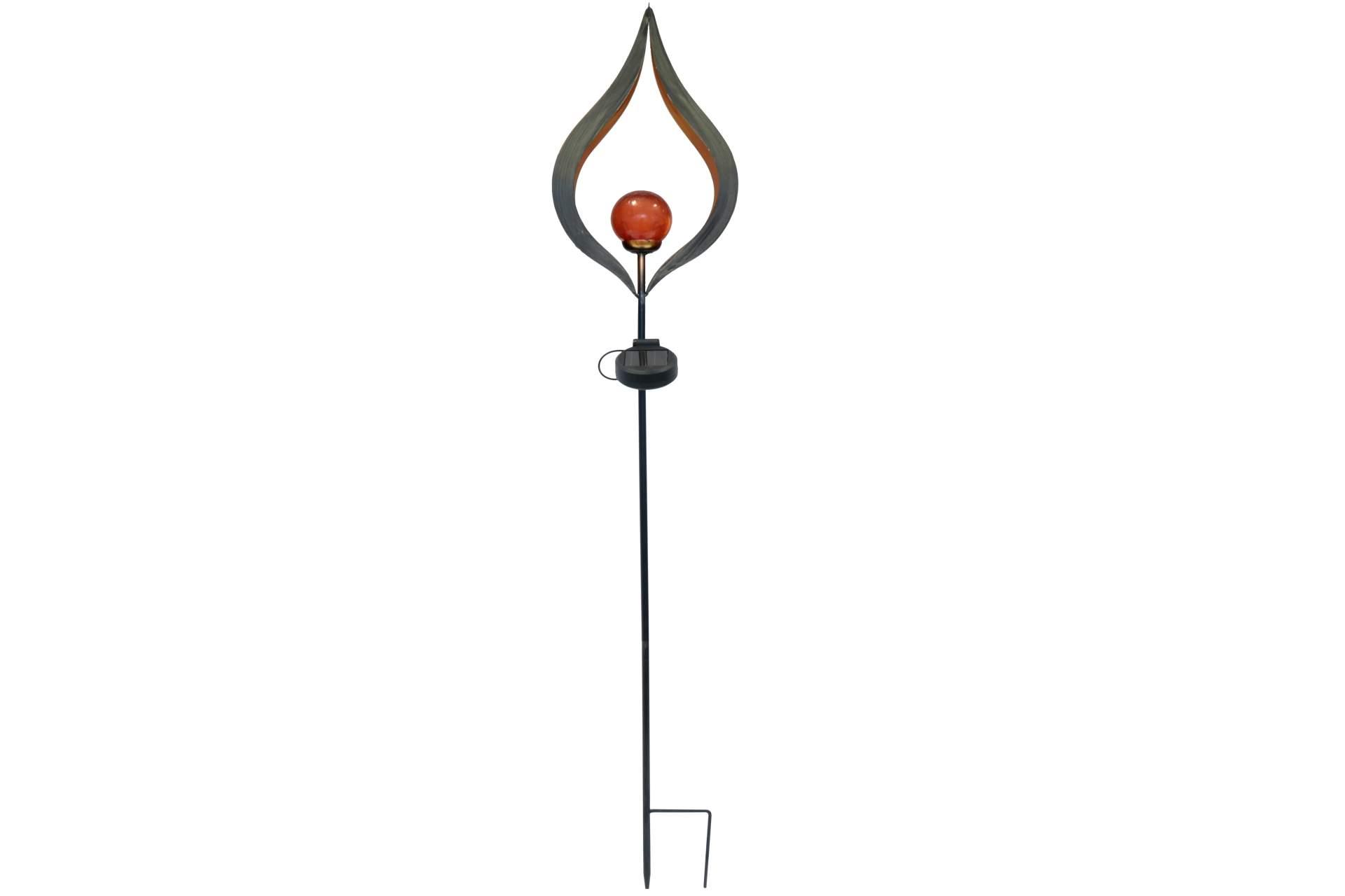 Posten Börse Gartenmöbel : kynast led solar leuchtskulptur fireball lohe stecker 93cm dekoration garten posten b rse ~ Watch28wear.com Haus und Dekorationen