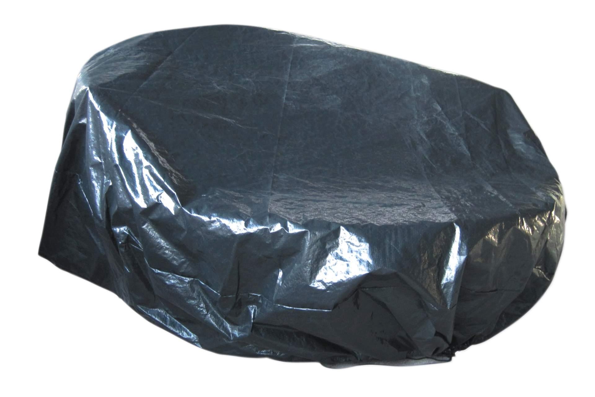 abdeckplane f r sonneninsel 170 cm dunkelgr n wetterschutz gartenm bel haus und garten. Black Bedroom Furniture Sets. Home Design Ideas