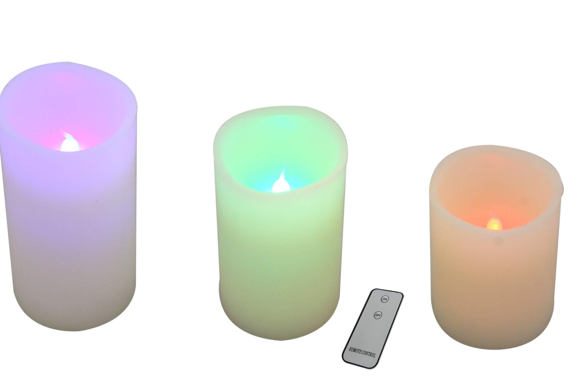 112334_am Elegantes Elektrische Kerzen Mit Fernbedienung Dekorationen