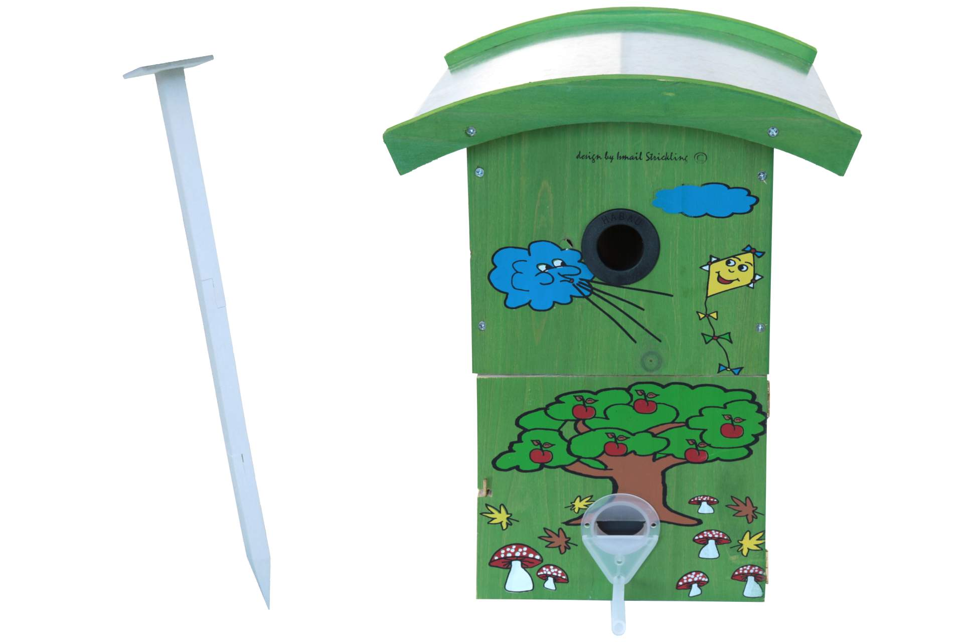 Posten Börse Gartenmöbel : vogel futterhaus nisthaus 4 jahreszeiten herbst mit st nder dekoration garten posten b rse ~ Watch28wear.com Haus und Dekorationen