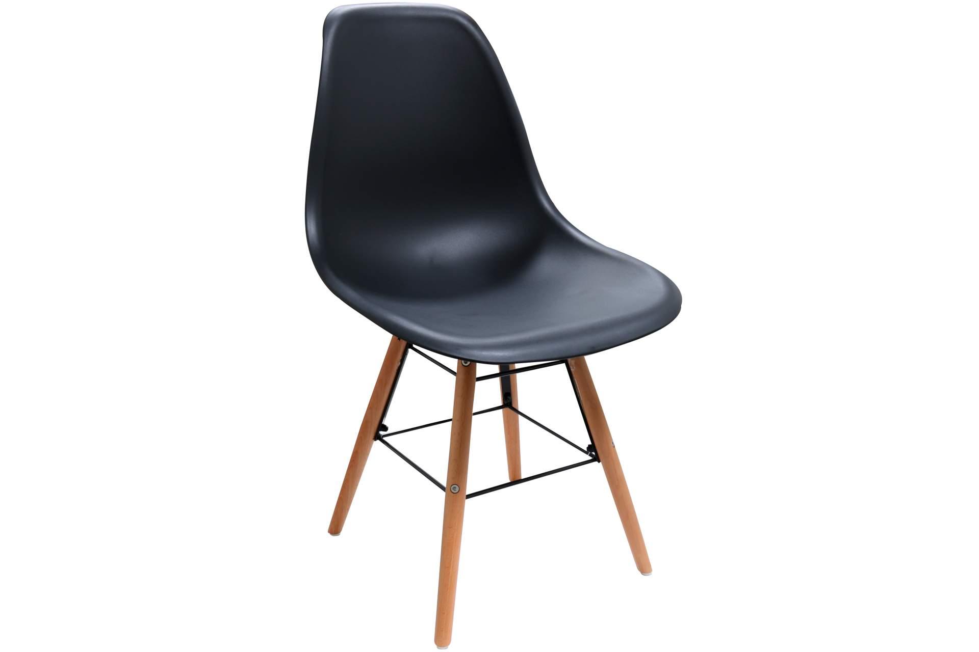 Design stuhl scandinavia modell schwarz im retro stil for Stuhl scandinavian design